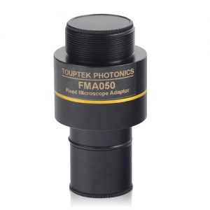 Camera adapter for microscope
