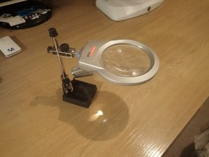 An inexpensive magnifier